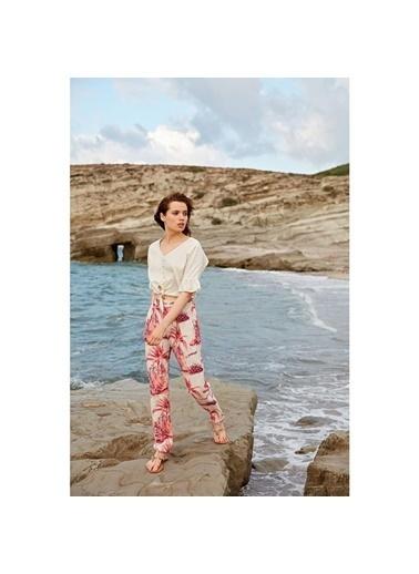 Miss Loren Pijama Takım Bej
